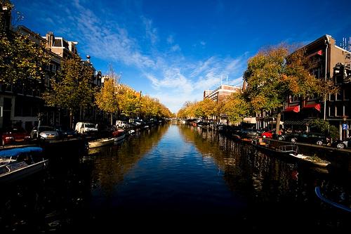 Amsterdam Canal, photo by Eduardo Arcos