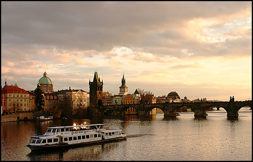 Charles Bridge, Prague, photo by Jake Liefer