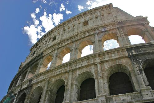 Colosseum Rome, photo by Dan Kamminga
