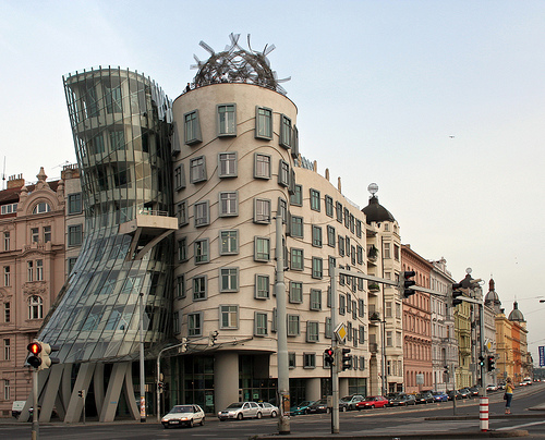 Dancing House Fred and Ginger in Prague, photo by Tony Hisgett