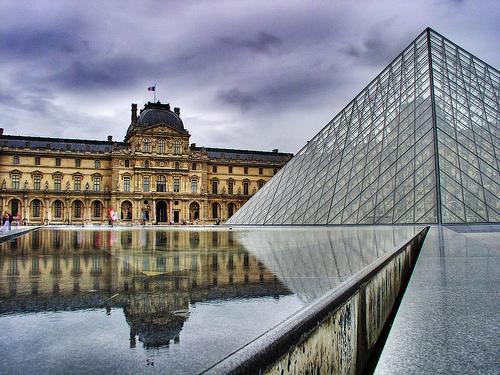 Louvre Museum, Paris, photo by Al Ianni