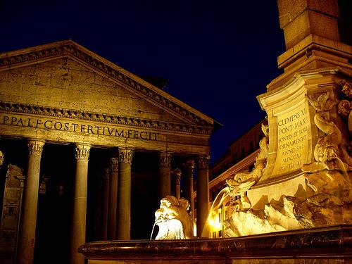 Pantheon Rome, photo by Kok Leng Yeo