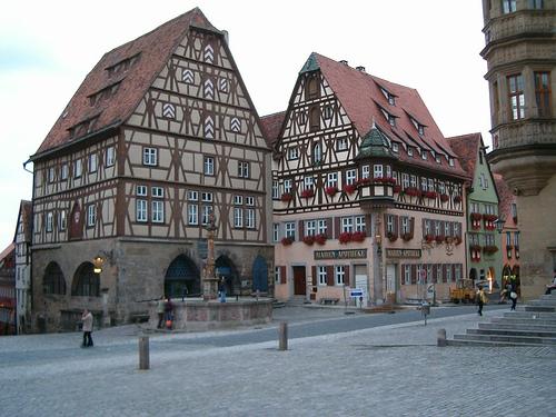 Rothenburg ob der Tauber, photo by Sergio