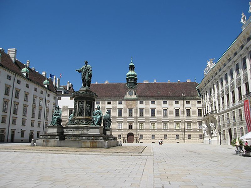 Hofburg Imperial Palace, photo by Ivan C