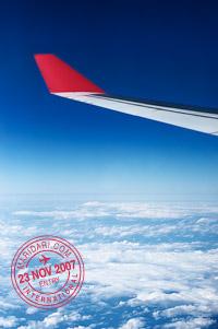 Flight to Tokyo, Japan