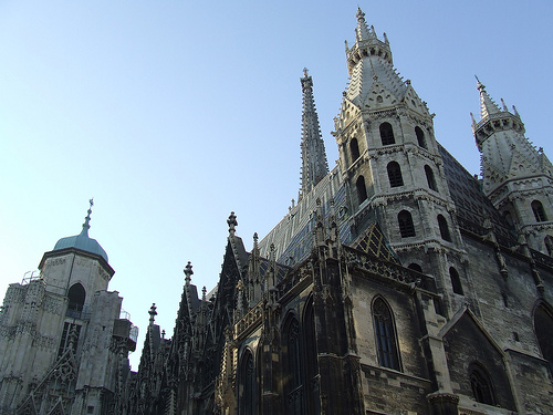 St. Stephen\'s Cathedral, photo by Chris Yunker (Share Alike)