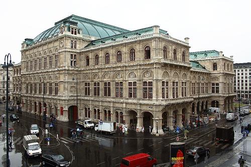Vienna State Opera House Staatsoper, photo by  John Menard