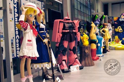 Akihabara Anime Center - Anime Characters