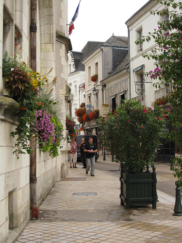 Streets of Amboise, Loire, photo by denisema4