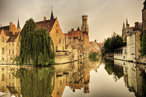 Bruges, Belgium, photo by Wolfgang Staudt