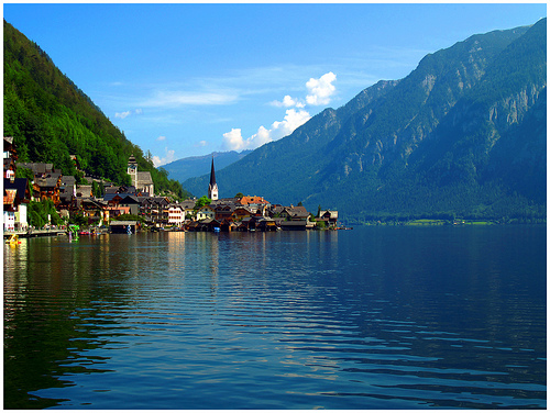 Hallstatt, Austria, photo by Oliver Wald