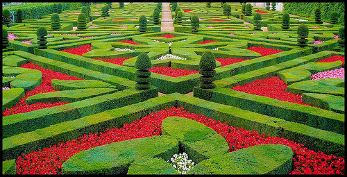 Chateau Villandry Garden, Loire Valley, photo by Francisco Antunes
